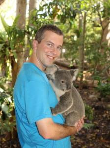 Me and koala