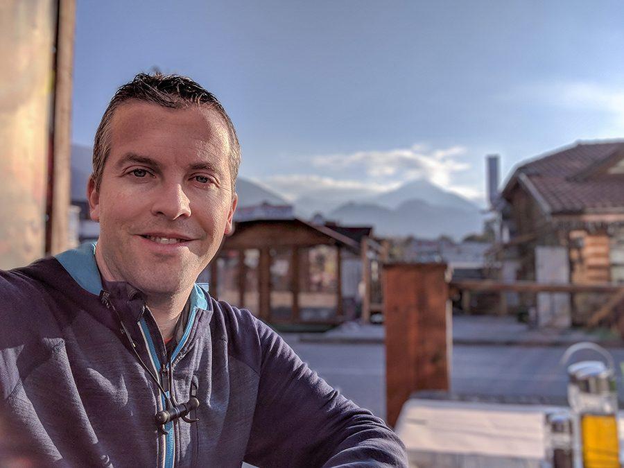 Me in Bansko, Bulgaria.